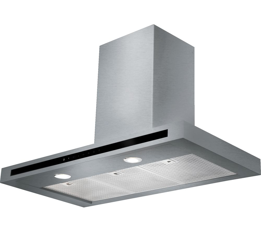 RANGEMASTER Hi-LITE 110 Chimney Cooker Hood - Stainless Steel