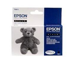 EPSON Teddybear T0611 Black Ink Cartridge