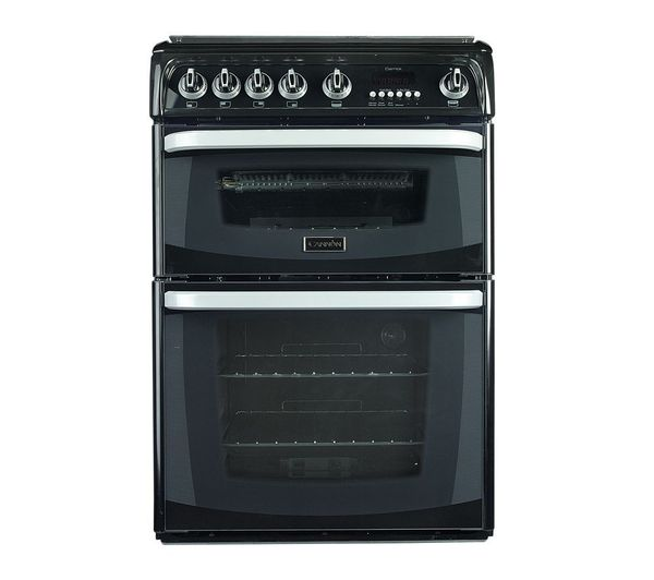 Image of CANNON Carrick CH60GCIK Gas Cooker - Black