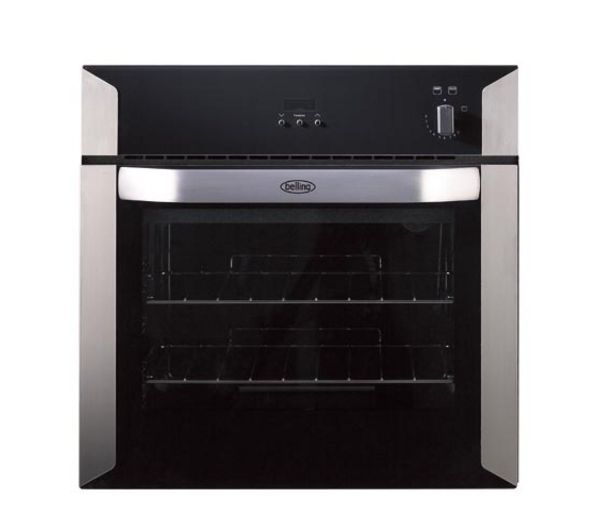 BELLING BI60G Gas Oven - Black