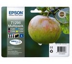 EPSON Apple T1295 Cyan, Magenta, Yellow. & Black Ink Cartridges - Multipack