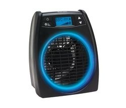 DXGLO2 GloFan Portable Hot & Cool Fan Heater - Black