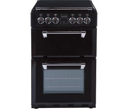 STOVES Richmond 550E Electric Ceramic Cooker - Black Best Price, Cheapest Prices
