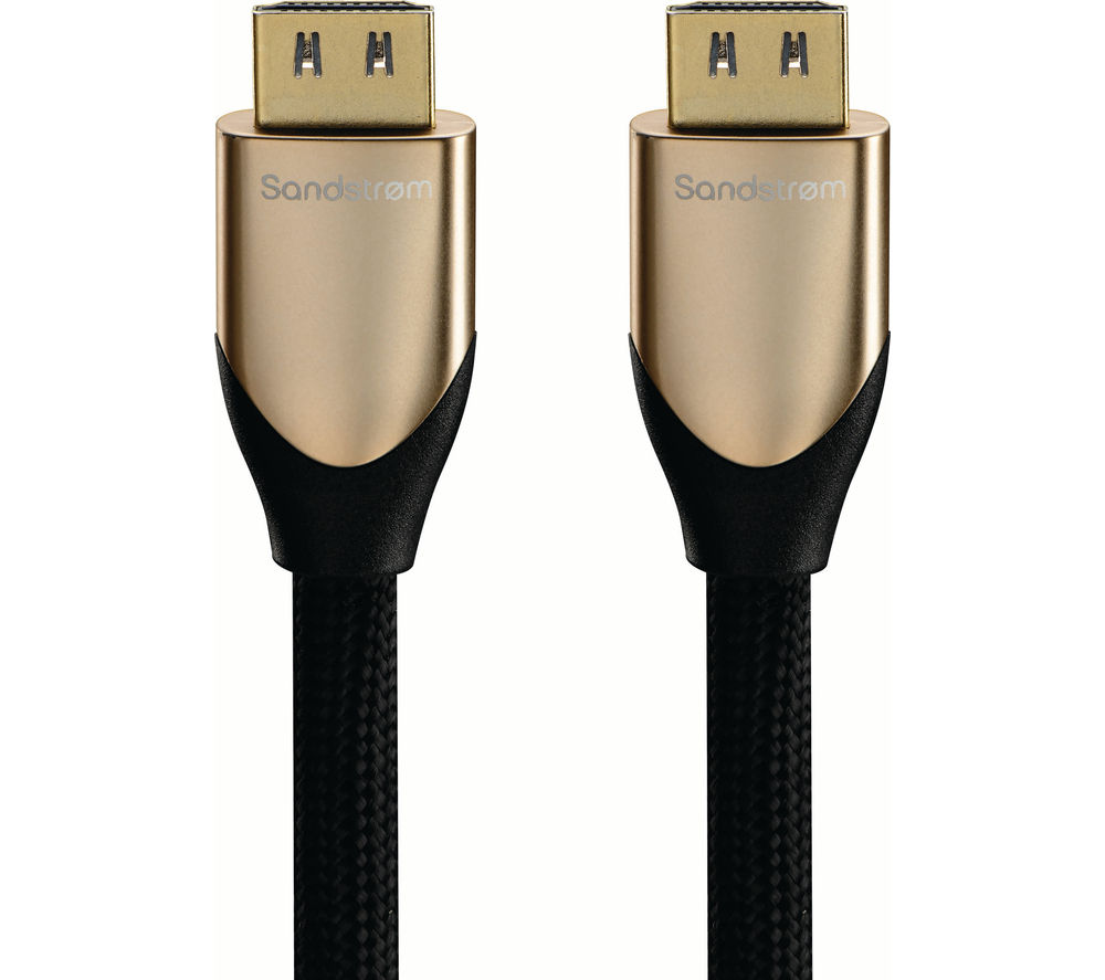 SANDSTROM Gold Series S1HDM315 Premium High Speed HDMI Cable with Ethernet - 1 m