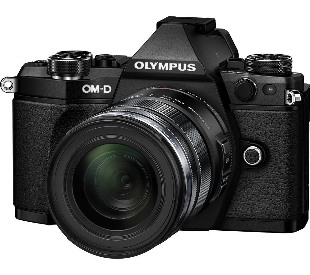 Buy OLYMPUS OM-D E-M5 Mark II Mirrorless Camera with 12-50 mm f ...