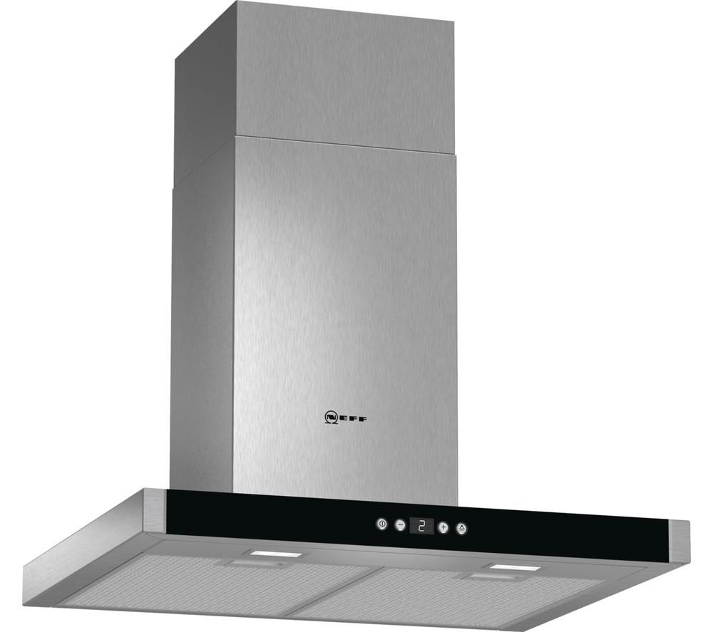 buy neff d76mh52n1b chimney cooker hood stainless steel. Black Bedroom Furniture Sets. Home Design Ideas