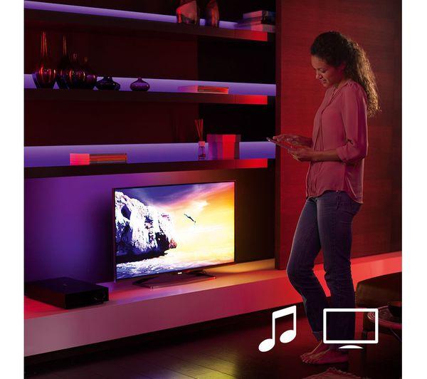 Philips Hue Led Strip Tv.Buy Philips Hue Smart Lightstrip Plus Starter Kit 2 M Free