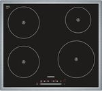 SIEMENS EH645FE17E Electric Induction Hob - Black