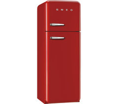 SMEG FAB30RFR 70/30 Fridge Freezer - Red