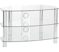 TTAP Vantage 800 TV Stand - Chrome