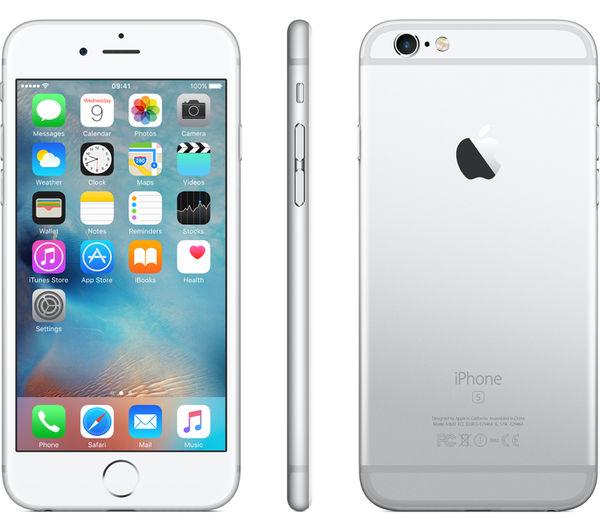 APPLE iPhone 6s - 32 GB, Silver