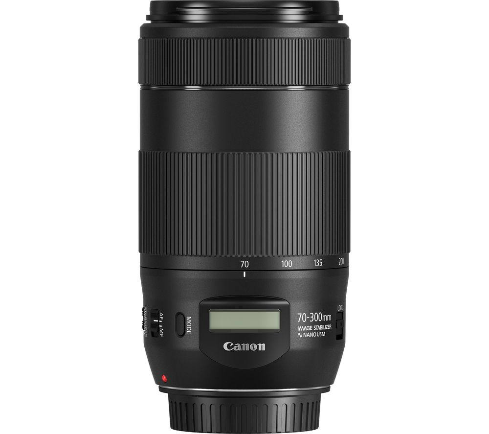 Compare cheap offers & prices of Canon EF 70-300 mm F-4-5.6 IS II USM Telephoto Zoom Lens manufactured by Canon