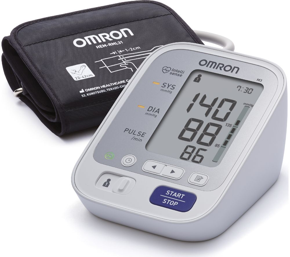 OMRON M3 HEM-7131-E Upper Arm Blood Pressure Monitor