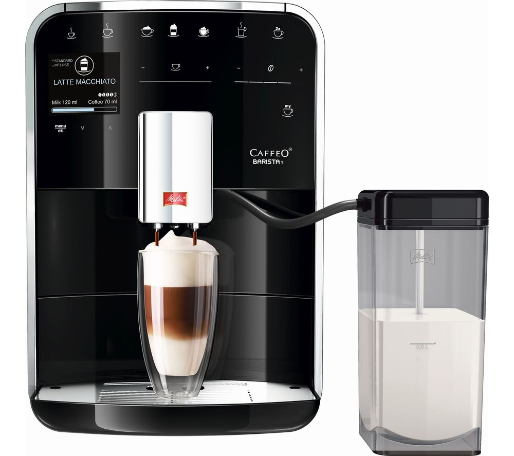 MELITTA Caffeo Barista T F730-202 Bean to Cup Coffee Machine - Black