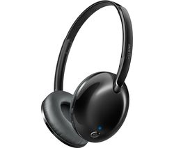 PHILIPS SHB4405BK Wireless Bluetooth Headphones - Black