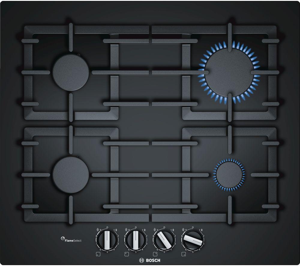 BOSCH Serie 6 PPP6A6B90 Gas Hob - Black