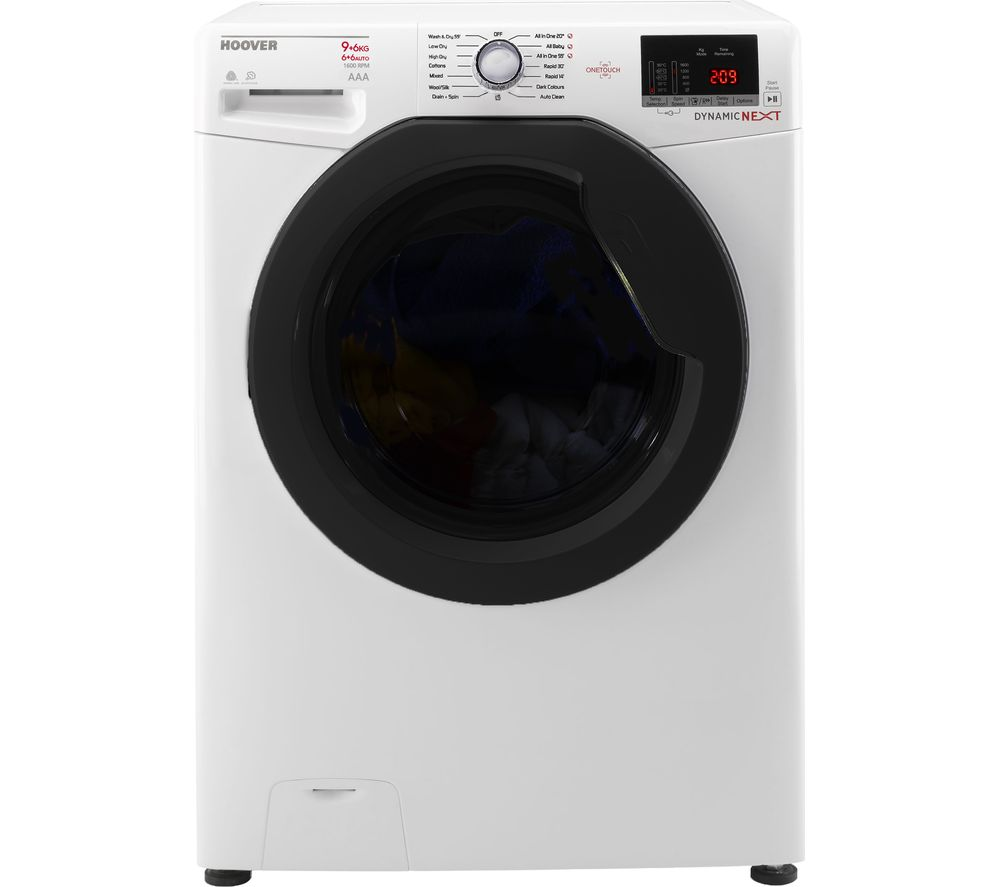 Hoover Washer Dryer WDXOA 496AF Smart NFC 9 kg  - White