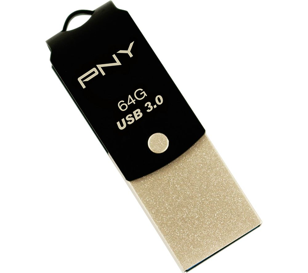 Compare retail prices of Pny Duo-Link USB 3 and Type-C Memory Stick 64GB to get the best deal online