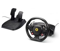 THRUSTMASTER Ferrari 458 Italia Racing Wheel & Pedals - Black