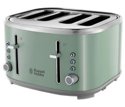 RUSSELL HOBBS Bubble 24414 4-Slice Toaster - Green