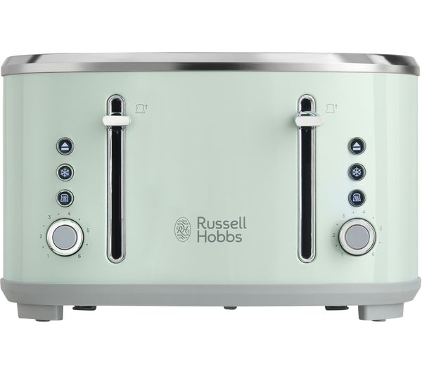 buy russell hobbs bubble 24414 4 slice toaster green bubble 24404 kettle green free. Black Bedroom Furniture Sets. Home Design Ideas