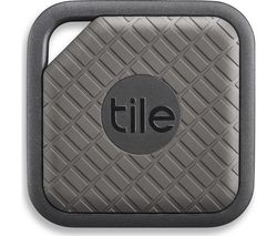 TILE Sport Bluetooth Tracker - Graphite, Pack of 2
