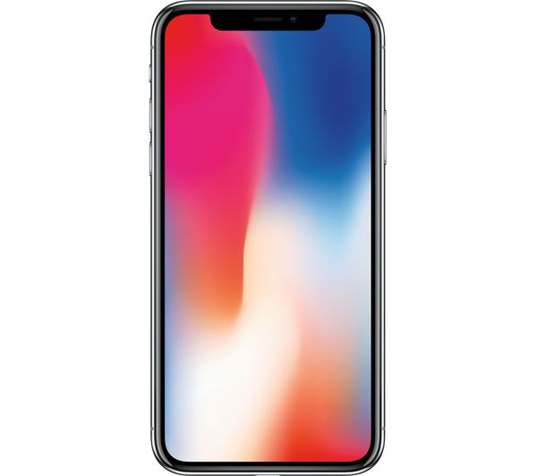 7064f5a473 Buy APPLE iPhone X - 256 GB, Silver | Free Delivery | Currys