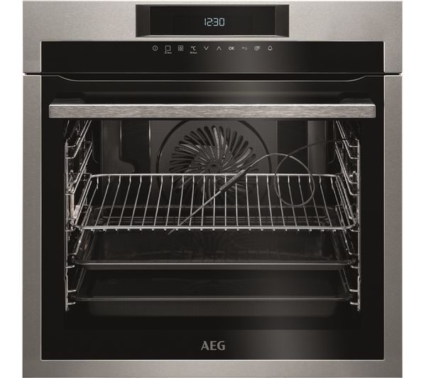 Image of AEG BPE742320M Electric Oven - Stainless Steel