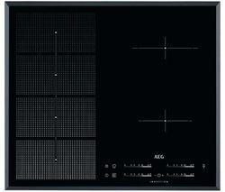 AEG HKP65410FB Electric Induction Hob - Black