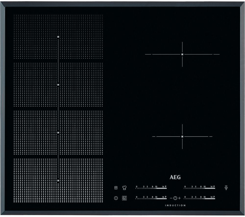AEG HKP65410FB Electric Induction Hob - Black