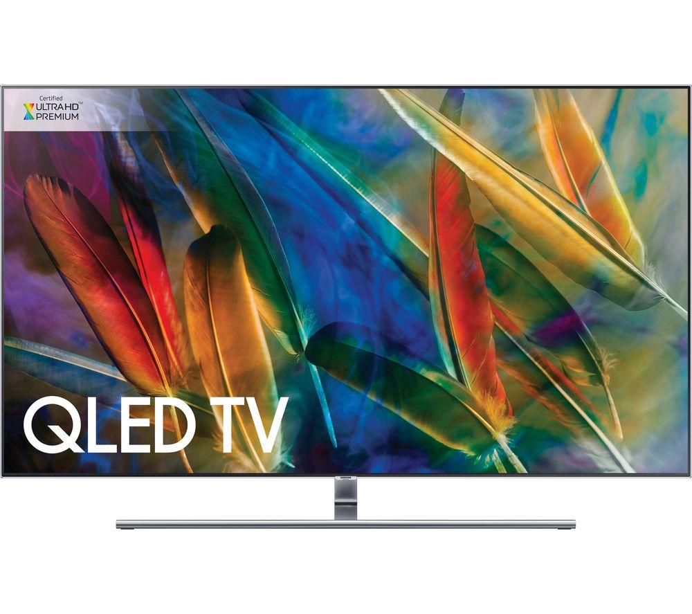 "Image of 55"" SAMSUNG QE55Q8FAMTXXU Smart 4K Ultra HD HDR QLED TV, Silver"
