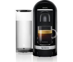 NESPRESSO by Krups VertuoPlus XN900840 Coffee Machine - Piano Black