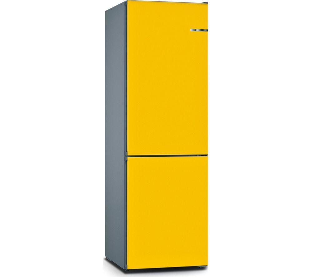 BOSCH Serie 4 Vario Style KGN36IJ3AG 60/40 Fridge Freezer - Sunflower