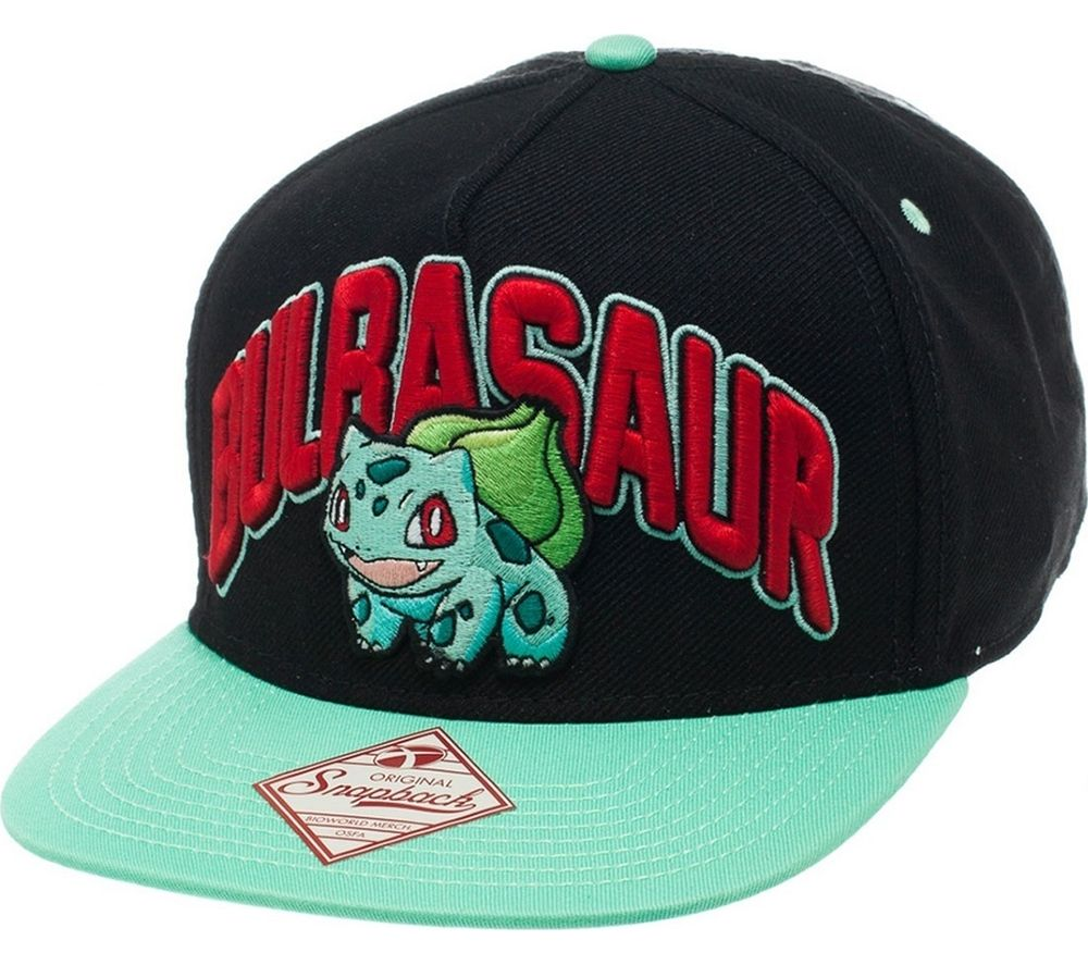 Cheapest price of Pokemon Bulbasaur Snapback Cap in new is £10.99