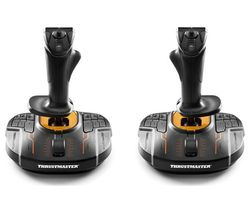 THRUSTMASTER T16000M FCS Space Sim Duo Joysticks - Black