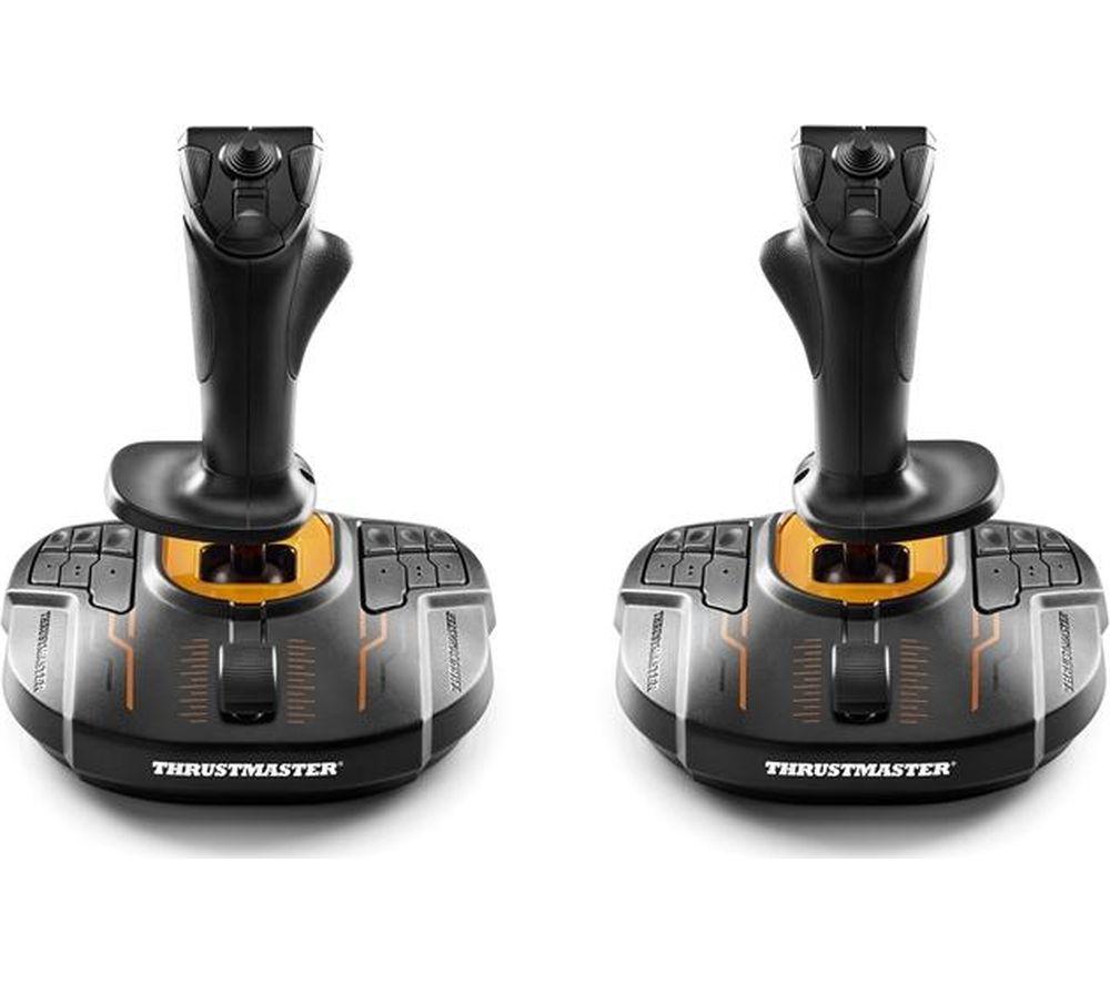 THRUSTMASTER T16000M FCS Space Sim Duo Joysticks - Black