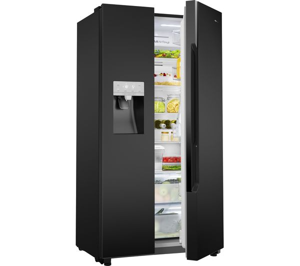 Buy Hisense Rs694n4tb1 American Style Fridge Freezer