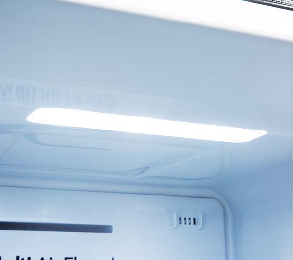 HISENSE RS694N4TB1 American-Style Fridge Freezer - Black
