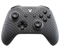 MICROSOFT Xbox One Wireless Controller - Carbon Fibre