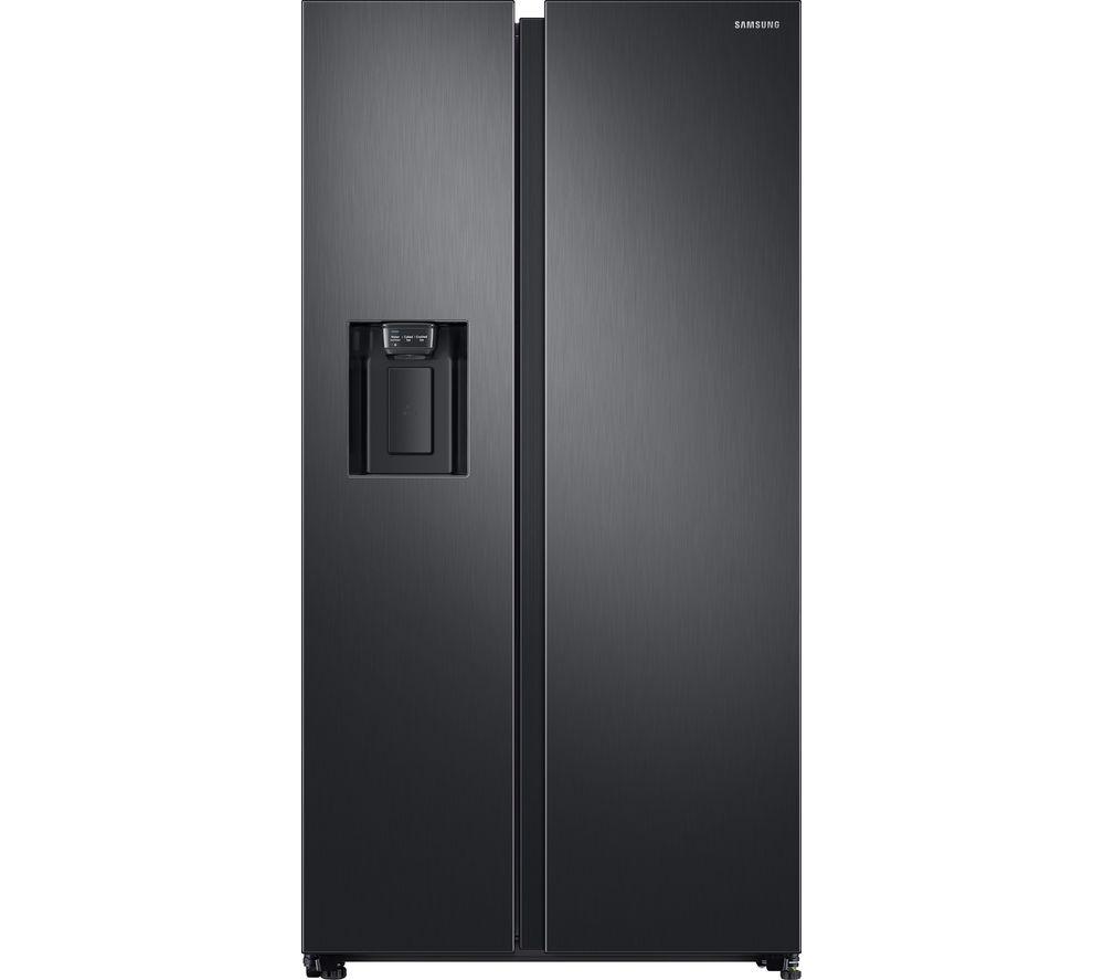 SAMSUNG RS8000 RS68N8340B1/EU American-Style Fridge Freezer - Black Steel
