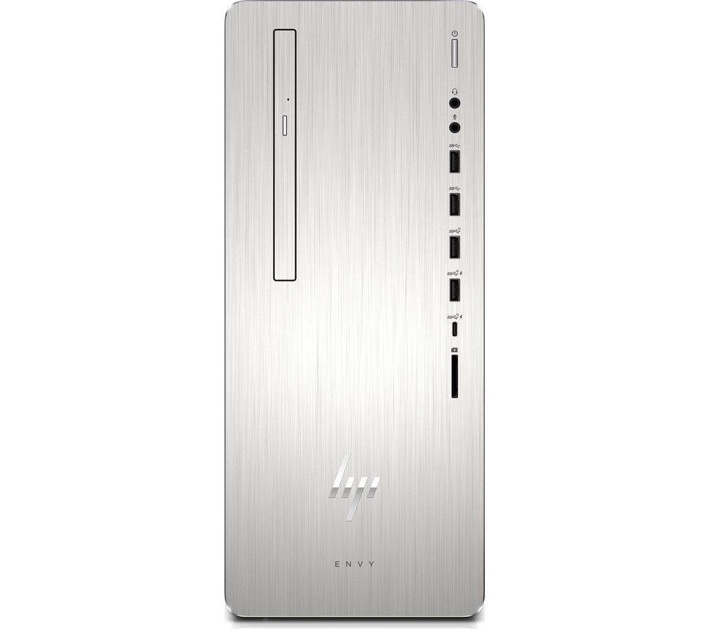 HP ENVY 795-0005na Intel® Core™ i5 Desktop PC - 1 TB HDD & 128 GB SSD, Silver