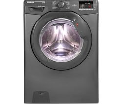 HOOVER Link DHL 1682D3R NFC 8 kg 1600 Spin Washing Machine - Graphite