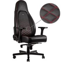 ICON Gaming Chair - Black & Red