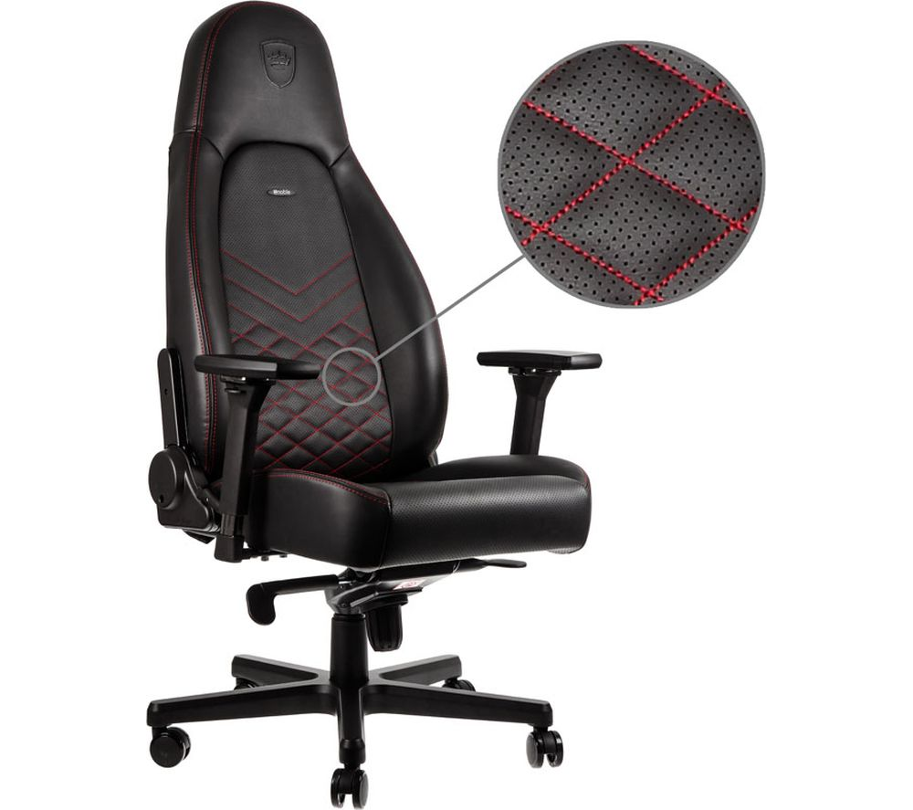 NOBLECHAIRS ICON Gaming Chair - Black & Red