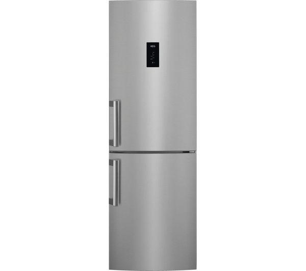 Image of AEG RCB53724VX 60/40 Fridge Freezer - Stainless Steel