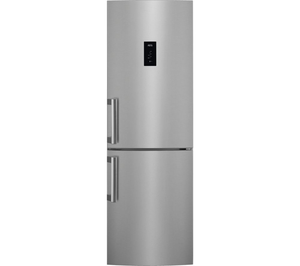 Image of AEG RCB53724VX 60/40 Fridge Freezer - Stainless Steel, Stainless Steel