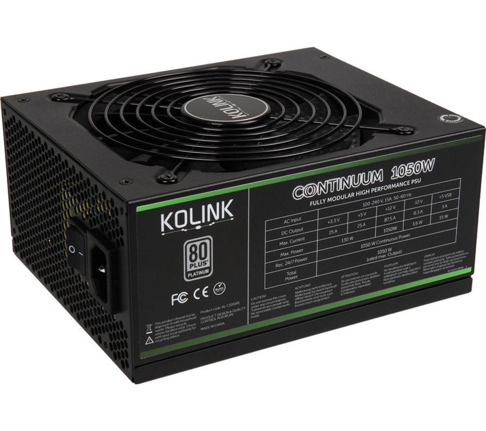 KOLINK Continuum KL-C1050PL Modular ATX PSU - 1050 W