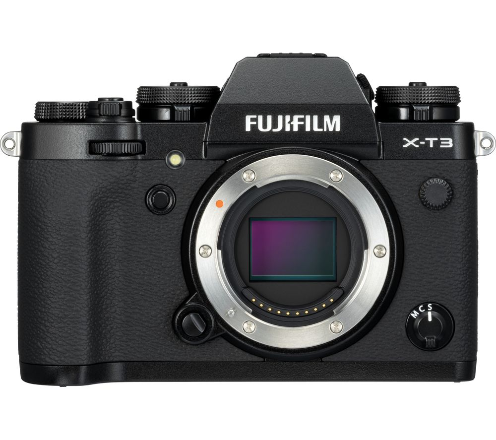 FUJIFILM X-T3 Mirrorless Camera - Black, Body Only