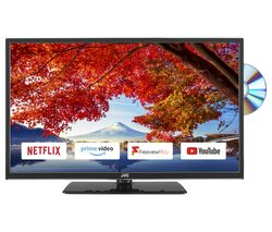 "JVC LT-32C695 32"" Smart LED TV with Built-in DVD Player"