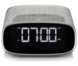 VQ Lark DAB+/FM Bluetooth Clock Radio - Oak